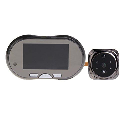 TEKMAGIC 3.5 ' LCD Digital Mirilla Espectador de la Puerta Timbre de la Cámara de Vigilancia de Vídeo 150 ° Vista de Gran Angular