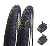 EBI20BMD 2 COPERTONI + CAMERE d'Aria VALVOLA America Schrader 20 X 1.95 (50-406) Bici Bicicletta BMX & Free Style