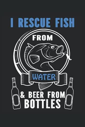 Rescato peces, cuaderno: Mantenga todas las ideas importantes, consejos de pensamientos y trucos en este cuaderno para el pago en la forma de una revista o libro de registro.