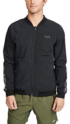 RVCA Sport Va Resin Bomber Jacket Black Small