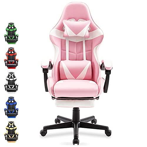 BestOffice Pink Gaming Chair
