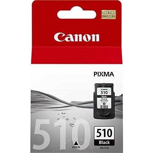 Canon PG-510 Cartucho de tinta original Negro para Impresora de Inyeccion de tinta Pixma
