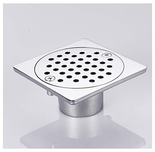 Home-Bathroom Drenaje del Piso Todos Cobre Recubrimiento Drenaje del Piso Baño Control de plagas Antirretorno Desagüe de Fila Desodorante de Fila Recta