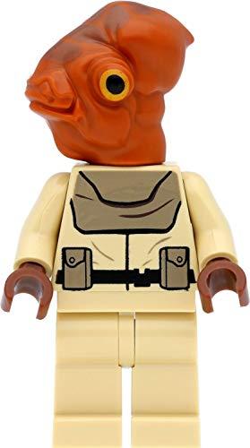 LEGO Star Wars - Figura oficial de Mon Calamari con armas