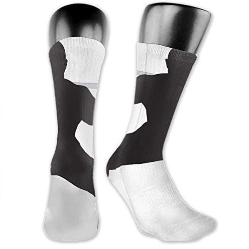 Männer Frauen Kniebeugen Gewichtheben Premium Knie hohe Socken Athletic Soccer Crew Tube Socken Strümpfe Sport Outdoor