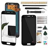 RongZy Pantalla para Samsung Galaxy A5 (2017) A520 A520F Pantalla Táctil LCD Kit de Pantalla de Repuesto Ensamblaje Digitalizador de Reemplazo con Herramientas(Negro)