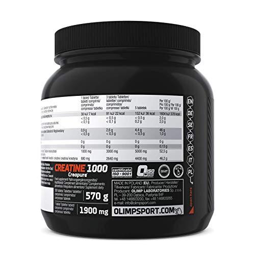 Olimp Creatine 1000, 300 Tabletten - 2