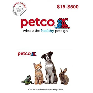 Petco Gift Card $50