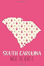 South Carolina Where the Heart Is: Favorite State Journal to Save Her Thoughts of Home & More