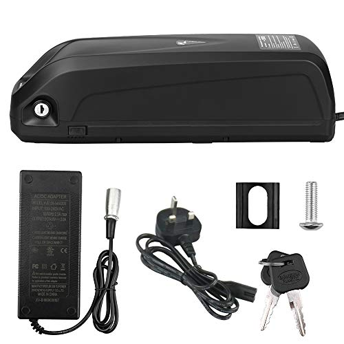 himaly 36V 15A E-bike Lithium-ion Battery for Electric Bike Bicycle Lockable Rechargeable Powered By USB With UK Plug