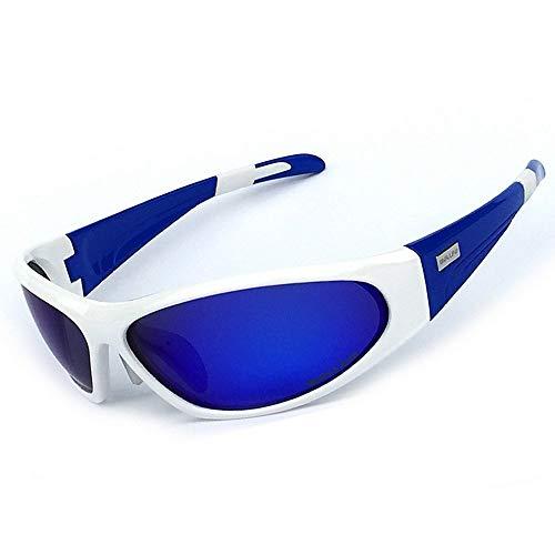LAMZH Sunglass Fashion Unisex Polarized Sports Swatses Hombres Mujeres para al Aire Libre Ciclismo Béisbol Corriendo Pesca Escalada Golf (Color : C4)