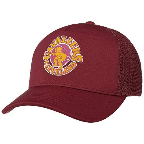 Mitchell & Ness Gorra Trucker Vintage Jersey Cleveland Cavaliers Burdeos - Ajustable