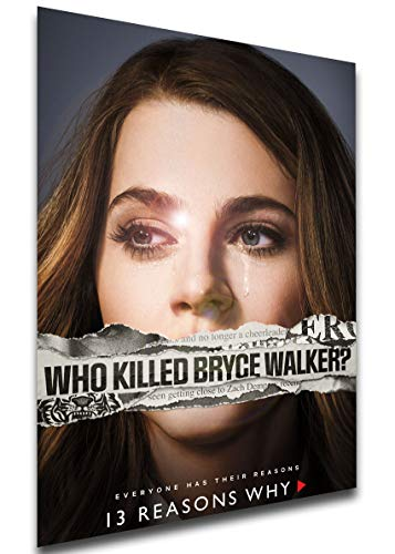 Instabuy Poster - TV Series - Playbill - 13 Reason Why Variant 14 A3 42x30