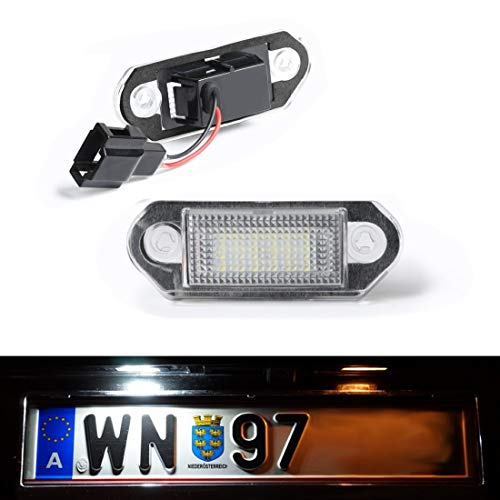 DoLED D25 LED Kennzeichenbeleuchtung mit E-Prüfzeichen