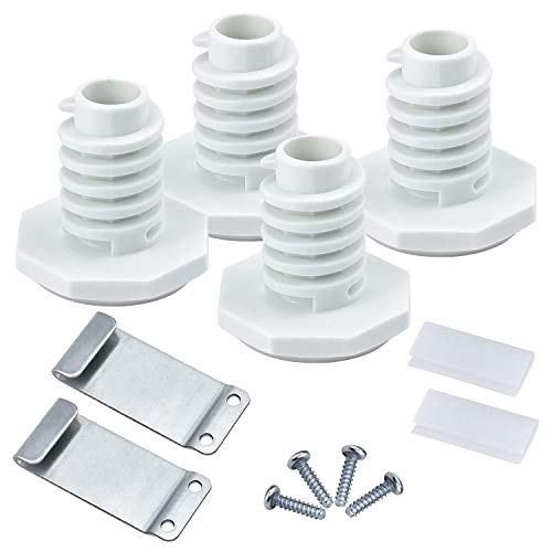 Funmit W10869845 Stacking Kit for Whirlpool Long Vent Dryer Washer-Replace W10298318RP,W10761316,12774