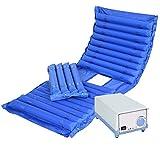 CANDYANA Cojín de colchón de presión antiescaras con Orinal Orinal Fluctuación de colchón antiescaras Cojín de Aire Simple,color2,200x90cm