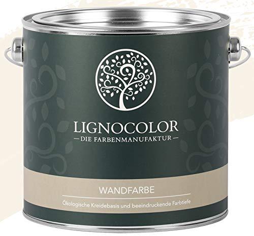 Lignocolor Wandfarbe Innenfarbe Deckenfarbe Kreidefarbe edelmatt 2,5 L (Powder)