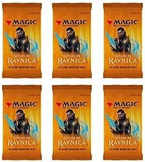 Magic The Gathering MTG Guilds Of Ravnica - 6 Booster Packs