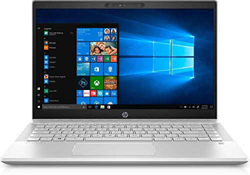 HP Pavilion 14-ce3040ng (14 Zoll / Full HD) Laptop (Intel Core i7-1065G7, 16GB DDR4 RAM, 1TB SSD, Nvidia GeForce MX250 4GB GDDR5, Windows 10) silber