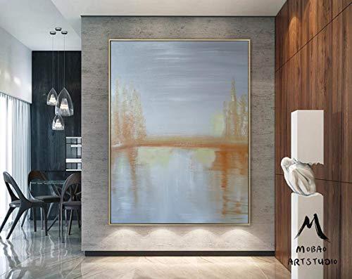 N\A Impresión de la Pared de la Pintura de la Lona Pintura Abstracta Sala de Estar Impresión HD Lienzo Pintura al óleo Decoración del hogar-Sin marco70x90cm