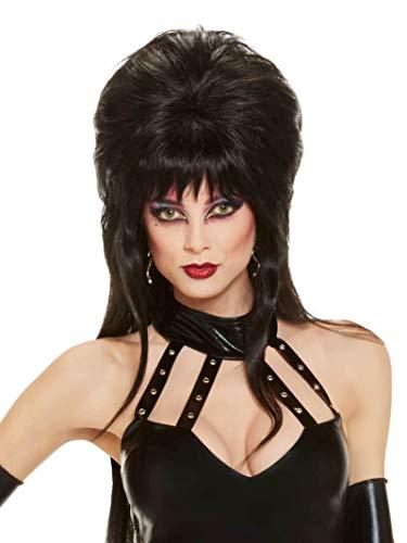 Rubie's Elvira Mistress of The Dark Long Wig, Black, One Size