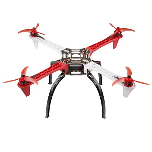 Crazepony F450-V2 Drone Frame Kit 4-Axis Airframe 450mm Quadcopter Frame Kit with Landing Skid Gear