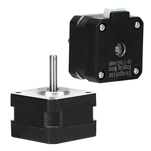 3D Stepper Motor, Reduction Gears Alloy Made Pin Cable Outlet Stage Lighting