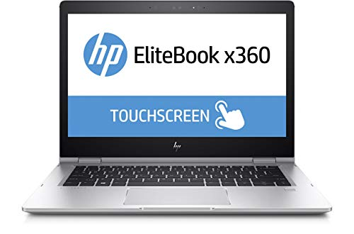 HP EliteBook x360 1030 G2 (13,3 Zoll FHD Touchscreen), Intel Core i7-7600U, 256 GB SSD, 8 GB RAM, Windows 10 Pro, silber (Generalüberholt)