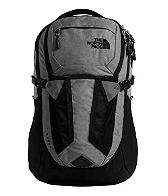 The North Face Recon Backpack, Zinc Grey Dark Heather/TNF Black, One Size