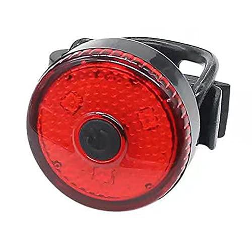 Luz de la cola de la bicicleta, la carga USB que carga la luz de la cola de la bicicleta LED super brillante, adecuada para cualquier bicicleta, luz trasera de bicicletas, asegurando mejor seguridad
