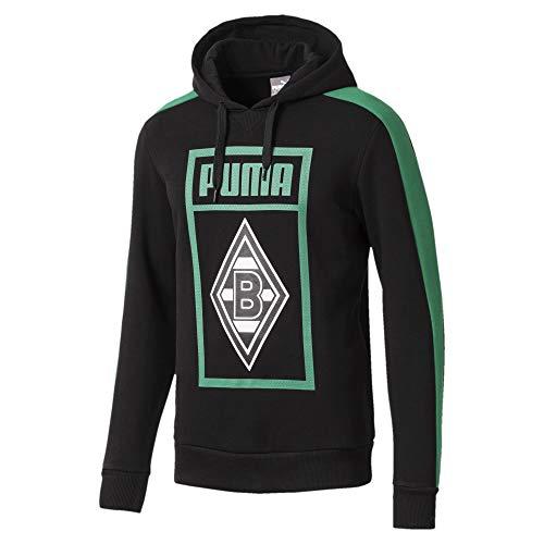 PUMA Borussia Mönchengladbach Herren Shoe Tag Hoodie - Puma Black - 3XL