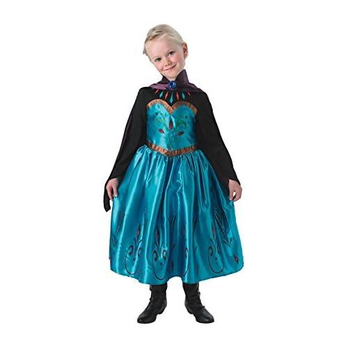 Rubie's Elsa Frozen Coronation Dress - Costume da Bambina, per Travestimenti e Feste in Maschera