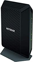NETGEAR CM700 (32x8) DOCSIS 3.0 Gigabit Cable Modem. Max download speeds of 1.4Gbps. Certified for XFINITY by Comcast, Time Warner Cable, Charter & more (CM700) (Renewed)