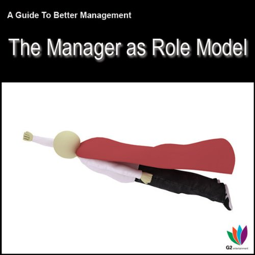 The Manager as Role Model audiobook cover art
