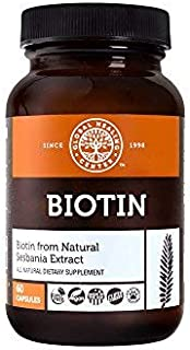 Global Healing Biotin (Vitamin B7) Capsules from Natural Sesbania Extract to Support Radiant Skin, Strong Nails, and Healt...