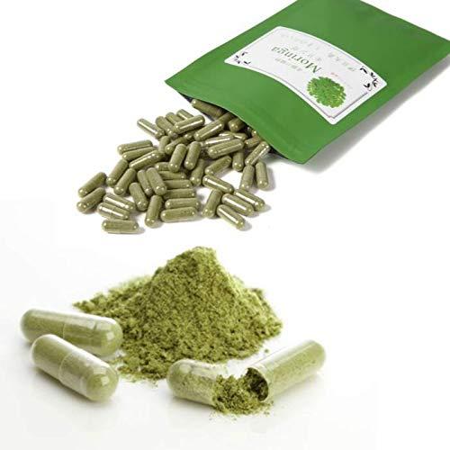 しまのだいち 無農薬 国産モリンガパウダー 粉末カプセル 90個×268 mg 約2ヵ月分 伊豆大島 しまのだいち