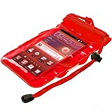 True Desire Three Layers Waterproof Sealed Transparent Mobile Bag Cover for Protection in