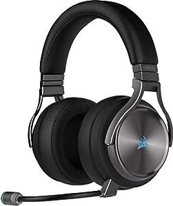 Kompromisslose Klangqualität: Ein präzise abgestimmtes Paar hochdichter 50-mm-Neodym-Lautsprecher liefert immersiven 7.1-Surround-Sound bei einem Frequenzbereich von 20 bis 40.000 Hz Ein Höchstmaß an Komfort: Premium-Ohrpolster mit Memory-Schaumstoff...