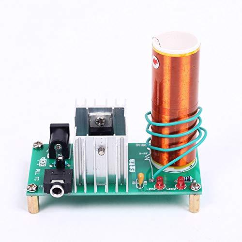 Mini Tesla Coil Modul Plasma Lautsprecher Elektronisches Kit Demontiert DIY 15W DC 15-24V 2A