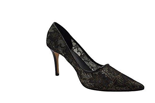 Elie Tahari Rory Black Lace Pumps Shoes (36.5)