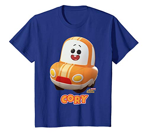 Kinder Netflix Go! Go! Cory Carson Cory Portrait T-Shirt