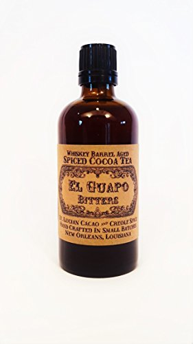 El Guapo Whiskey Barrel Aged Spiced Cocoa Tea Bitters