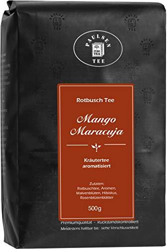 Mango-Maracuja 500g (29,50 Euro / kg) Paulsen Tee Rotbuschtee rückstandskontrolliert