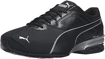 PUMA Men s Tazon 6 FM Puma Black/ Puma Silver Running Shoe - 12 D M  US