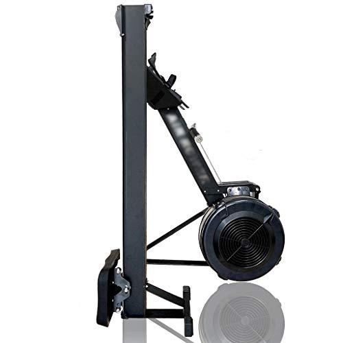 XYF Rudergerät Mit Datenanzeige Rudermaschine Rudergerät Für Zuhause Klappbar Testsieger Multifunktionale Sportfitnessgeräte Kann 227 Kg Tragen (Color : Black, Size : 244 * 61cm)