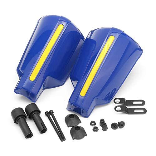 GUANGGUANG Heartwarming Shop 2X Motorcycle Hand Guard Handle Protector Shield Motorbike Motocross Scooter Windproof Handlebar HandGuards Protection Motobike (Color : Blue)