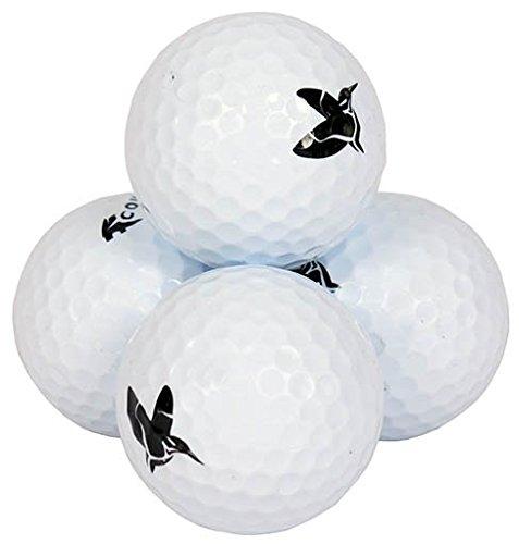 BurgGolf 24 Golfbälle mit Titan-Kern ACM 2–Piece-Ball DREI Farben erhältlich (weiß)