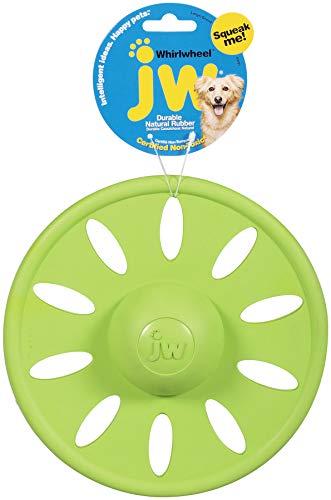 JW Pet Company Brinquedo para cães Whirlwheel Flying Disk, grande, cores variam