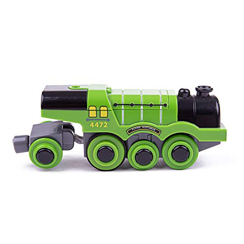Bigjigs Rail Flying Scotsman Battery Operated Engine - Other Major Rail Brands are Compatible
