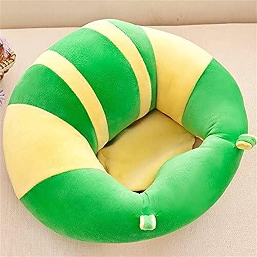 Archile Soporte de bebé Sofá Sofá de Felpa Suave con Forma de bebé Aprendiendo para Sentarse Sillón Mantenga Sentado Postura Cómoda Silla sentada Infantil (Verde) (Color : Green)